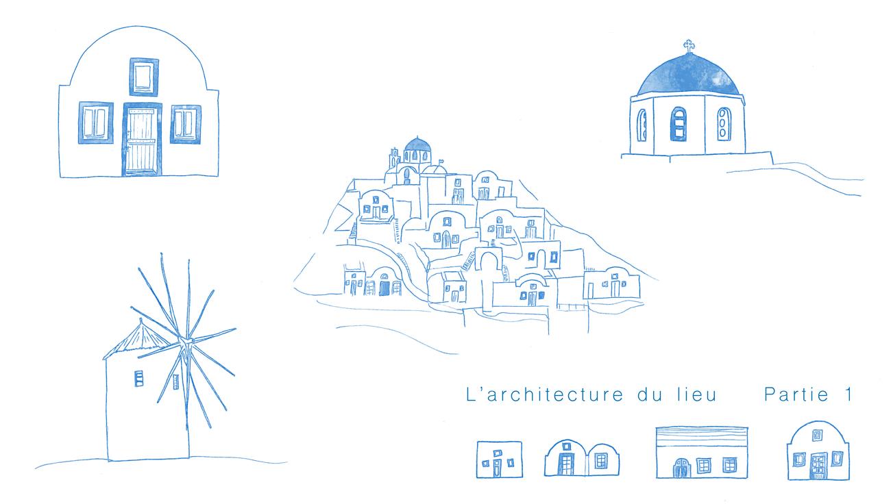 Architecture Santorin Partie 1